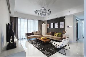 85平米现代风格精致两室两厅室内装修效果图