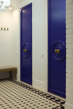 现代风格时尚个性三室两厅室内装修效果图案例