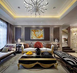 159平米新古典主义风格大户型室内装修效果图案例