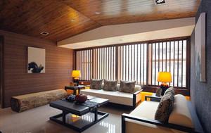 160平米新中式古韵悠长大户型室内装修效果图