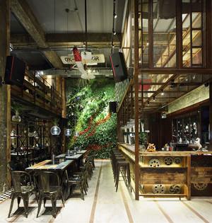 混搭风格创意餐厅装修效果图欣赏