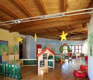 现代简约风格创意幼儿园教室装修效果图