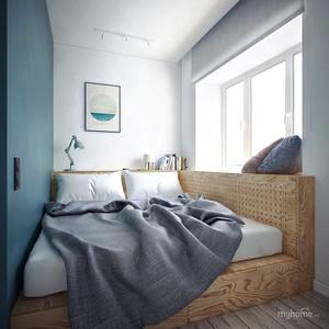 现代简约风格时尚个性单身公寓装修效果图欣赏