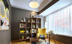90平米简欧风格活力时尚室内设计装修效果图