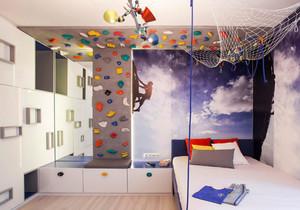 简约风格时尚创意儿童房装修效果图欣赏
