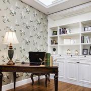 美式风格精美雅致书房设计装修效果图欣赏