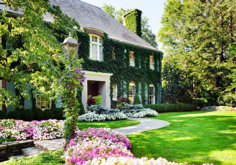 欧式风格精美别墅花园装修效果图欣赏