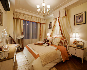 152平米欧式风格精美四室两厅室内装修效果图