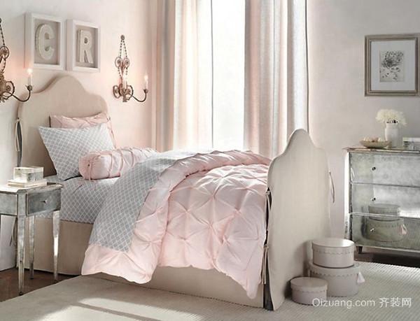 欧式风格清新精美女生儿童房装修效果图大全