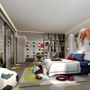 现代简约风格活力十足儿童房装修效果图赏析