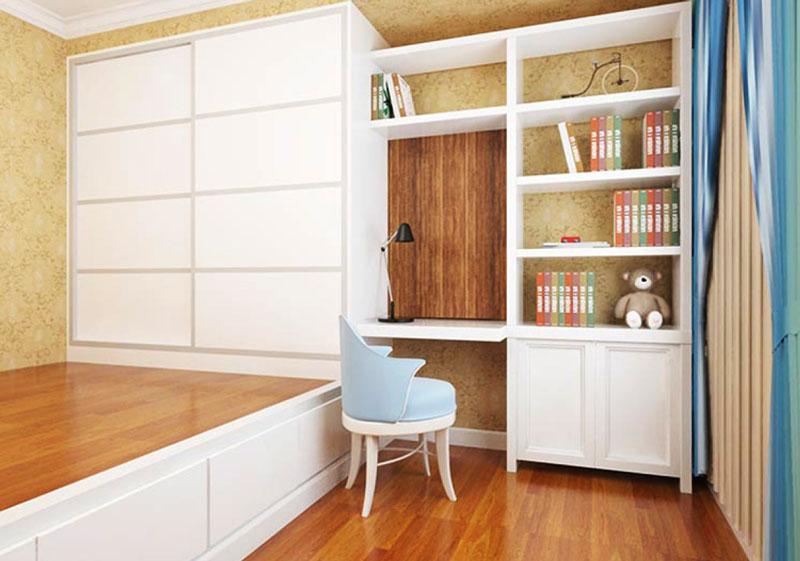 现代简约风格小户型榻榻米卧室装修效果图赏析