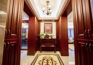 中式风格精致大户型玄关设计装修效果图赏析