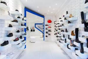 现代简约风格时尚鞋店装修效果图赏析