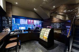 后现代风格精致小型咖啡厅装修效果图欣赏