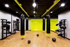 现代风格精致健身房装修效果图