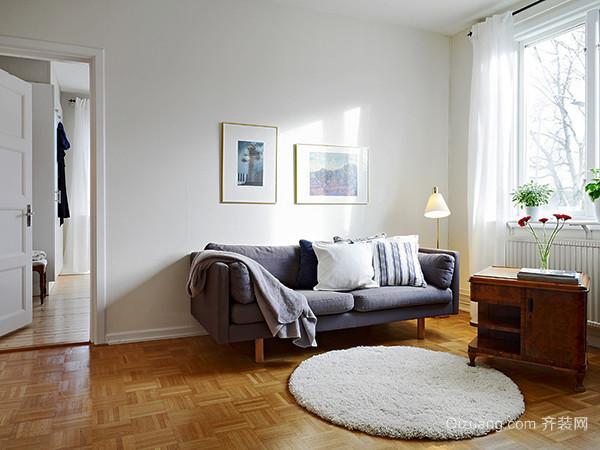北欧风格简约自然风小户型装修效果图案例