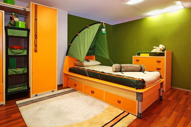 现代风格时尚创意儿童房设计装修效果图赏析