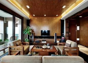 147平米东南亚风格精致大户型室内装修效果图