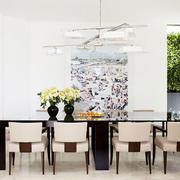后现代风格简约别墅餐厅装修效果图欣赏