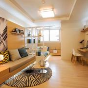 现代简约风格小户型客厅装修效果图案例
