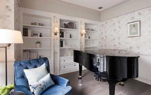 100平米简欧风格精致室内装修效果图欣赏