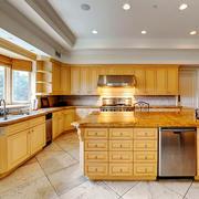欧式风格大户型精致整体厨房装修效果图