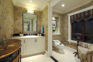 欧式风格大户型精致卫生间装修效果图欣赏