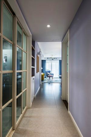 82平米清新风格时尚温馨两室两厅室内装修效果图