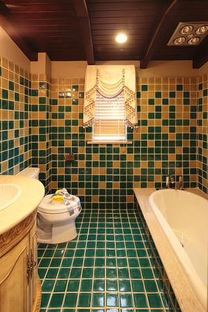 欧式风格精致卫生间瓷砖装修效果图赏析