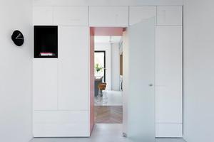 80平米现代简约风格时尚小清新室内装修效果图