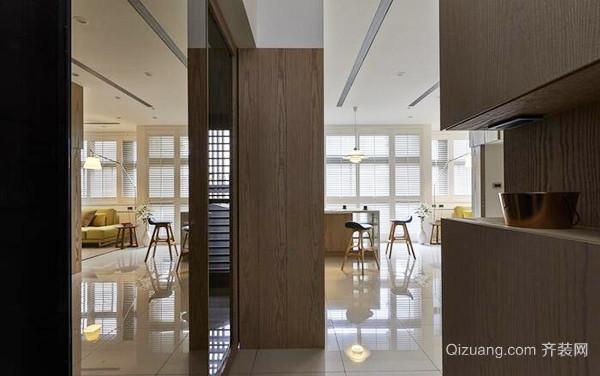66平米现代风格精致小户型装修效果图案例