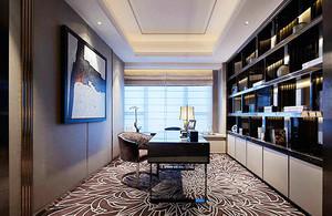 151平米新古典主义风格大户型室内装修效果图案例