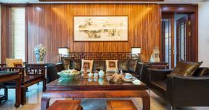 中式风格古朴精致客厅装修效果图赏析