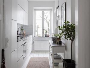 北欧风格简约小户型厨房装修效果图赏析
