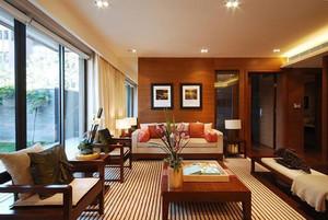 139平米东南亚风格精致大户型室内装修效果图赏析