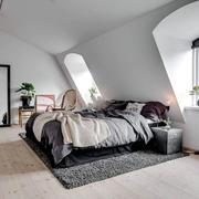 北欧风格简约阁楼卧室装修效果图赏析