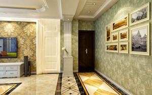 90平米混搭风格精致室内装修效果图案例