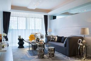 简约风格整洁明亮客厅装修效果图欣赏