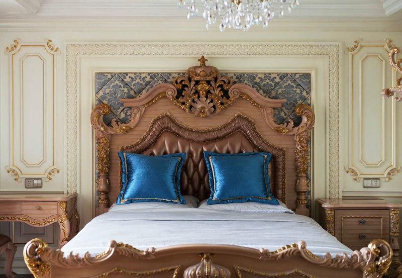 古典欧式风格卧室背景墙装修效果图赏析