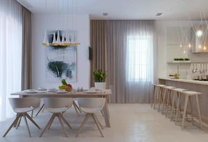 286平米现代简约风格别墅室内装修效果图案例
