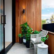 现代风格时尚休闲阳台设计装修效果图赏析