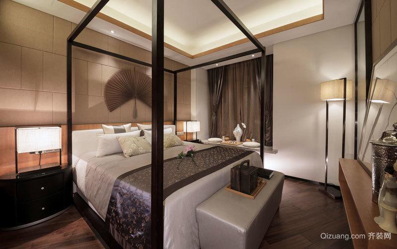 100平米新中式风格雅致与时尚并存室内装修效果图图片