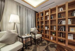 100平米新中式风格雅致与时尚并存室内装修效果图
