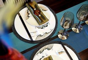 100平米中式风格古韵古香室内装修效果图案例
