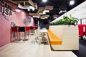 87平米现代简约风格时尚餐厅装修效果图