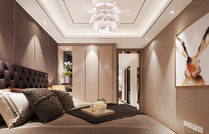100平米简欧风格精致室内装修效果图案例