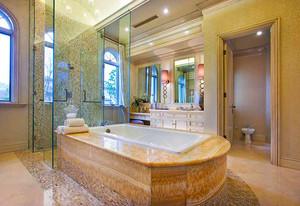 360平米美式混搭风格精致别墅室内装修效果图