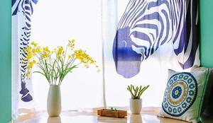 现代风格时尚靓丽两室两厅室内装修效果图赏析