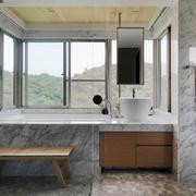 现代风格大户型大理石卫生间装修效果图鉴赏