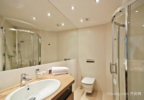 现代简约风格精致卫生间装修效果图大全